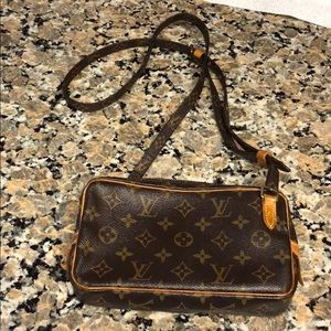 Authentic Louis Vuitton Marley Sling No Dustbag